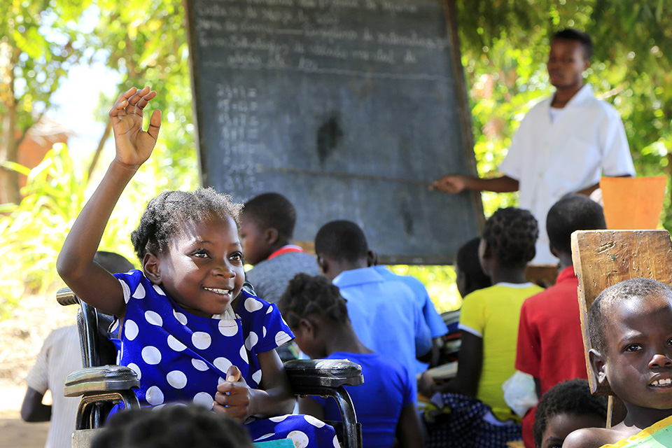 Mapunziro Improving education quality and inclusion in primary schools